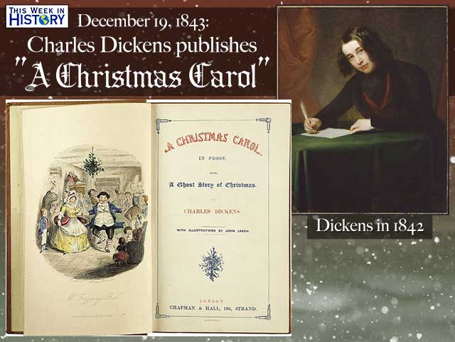 a christmas carol was published on december 19 1843 - When Was A Christmas Carol Published